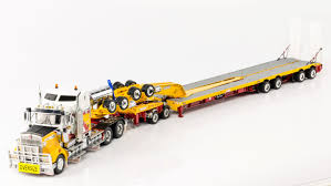 kenworth t909 prime mover drake 2x8 dolly 4x8 swing trailer andys