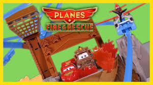 disney planes fire rescue toys fire fusel lodge track