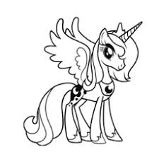 princess pony coloring pages coloring