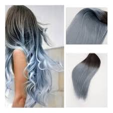 Two Tone Ombre Hair Extensions by Full Shine Remy Hair Extensions Balayage Hair Extensions 1b