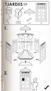 vicious imagery genius instructions for ikea u0027s flatpack tardis