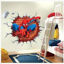 wall ideas spiderman wall mural amazon spiderman wall mural spiderman wall murals wallpaper super hero spider man wall sticker decals kids baby nursery room vinyl