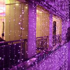 New Year Outdoor Decoration by Christmas Outdoor Decoration 3m X 1m Curtain Icicle String Led