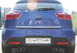 Kia Mk Kia Mk Iii 11 15 Chrome Rear Trim Trunk Boot Tuning