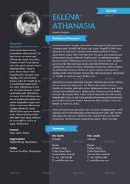 Envato Resume Templates Personality Resume Template By Hermeneutic Graphicriver