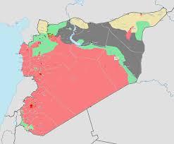 Syria Control Map by Syria Civil War Map Adriftskateshop