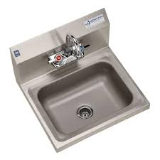 wall mount stainless steel sink griffin products h30 series wall mount stainless steel 17x15 5x13 in