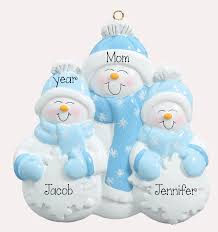 single parent 2 kids personalized ornament my personalized