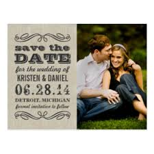 Rustic Save The Date Rustic Save The Date Postcards Zazzle