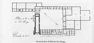 mission san diego de alcala floor plan chapter 2 photos san diego chicano history