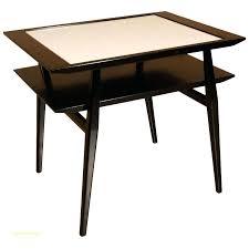 bureau noir et blanc table bureau blanc trendy k table de bureau x blanc acacia goujon