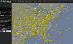 Washington Traffic Map by Washington Faa Computer Problem That Snarled Flights In