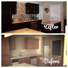 Before And After Kitchen Cabinet Makeovers Diy Kitchen Cabinets Makeover Home Design Ideas
