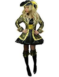 yummy bee pirate fancy dress plus size 6 18 costume captain ladies