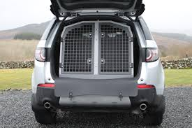 land rover discovery sport trunk space transk9 b34 dog transit box for discovery sport perfect dog cage