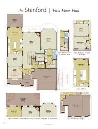 stanford home plan by gehan homes in inverness estates classic