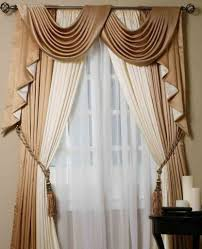 Scarf Curtains Scarf Valance Curtains Design Idea And Decorations The Way To