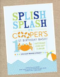 Design Invitations Birthday Pool Party Invitations Haskovo Me