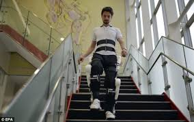 Chair That Goes Up Stairs Robotic Exoskeleton To Help Rehabilitate Disabled People Passes