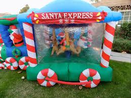 Halloween Inflatable Train Http Www Ebay Com Itm Gemmy Christmas Rotating Santa Carousel