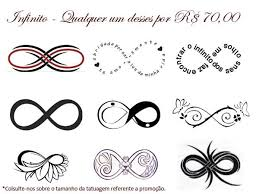 collection of 25 swirls infinity symbol