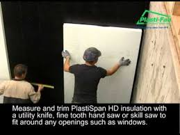 Exterior Basement Wall Insulation by Insulating Exterior Basement Walls With Plastispan U0026 Durofoam