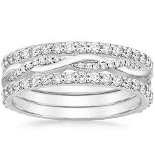 stackable engagement rings stackable rings brilliant earth
