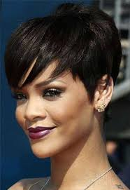 the best pixie cut for black hair 15 new short hairstyles with bangs for black women short