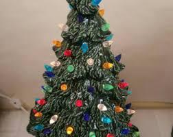 Large Ceramic Christmas Tree Vintage Style Ceramic Christmas Tree Ceramic Tree 17