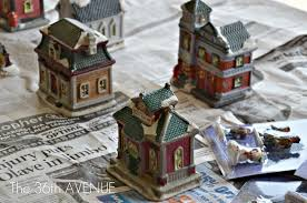 christmas villages diy dollar store christmas the 36th avenue