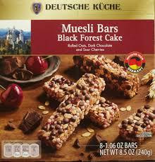 deutsche küche aldi deutsche küche museli bars black forest cake food