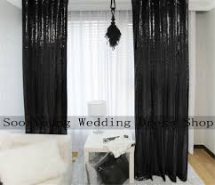 Black Blackout Curtains Compare Prices On Black Blackout Fabric Online Shopping Buy Low