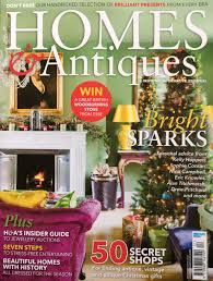 Beautiful Homes Magazine Homes U0026 Antiques December Issue Christopher Drake