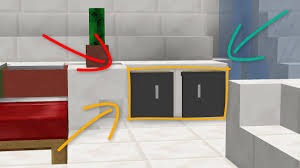 Minecraft How To Make A Furniture by Minecraft How To Make A Cabinet Youtube