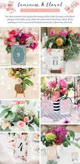 28 stunning wedding table number ideas ftd