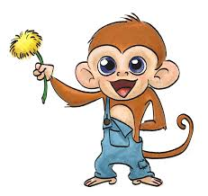 requested monkey drawn to draw