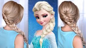 lilith moon youtube elsa u0027s braid hair tutorial from frozen youtube