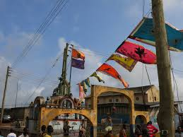 Ghana Flag Meaning Art Honour And Ridicule Asafo Flags From Southern Ghana Royal