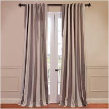 Home Decoration Stuff by Decorating Double Black Light Blocking Curtains For Home