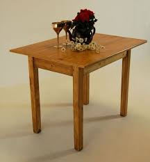 Kitchen Dining Farmhouse Table Small Antique Pine Waxed - Small pine kitchen table