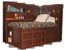 twin bed with bookcase headboard and storage twin bed with storage and trends enchanting bookcase headboard ideas