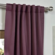 Lavender Blackout Curtains by Aubergine Blackout Curtains U0026 Drapes