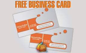 free business card free vector 4vector