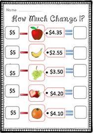 making change coffee shop math 2nd grade math learning