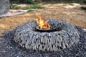 Rock Firepits Amazing Pit Rocks Design Ideas Fireplaces Firepits