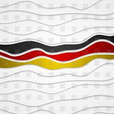 Germany Flag Colors Corporate Wavy Abstract Background German Flag Colors Royalty