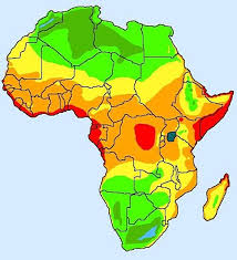 africa map climate zones growing zone