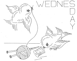 hand embroidery pattern 626 birds for days of the by blondiesspot