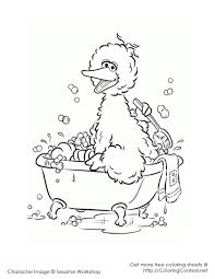 top 25 free printable big bird coloring pages online big bird