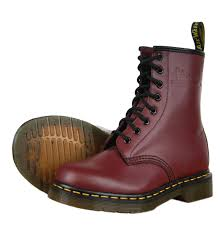 womens boots dr martens martens 1460 11822600 womens boots aw12 cherry smooth ebay